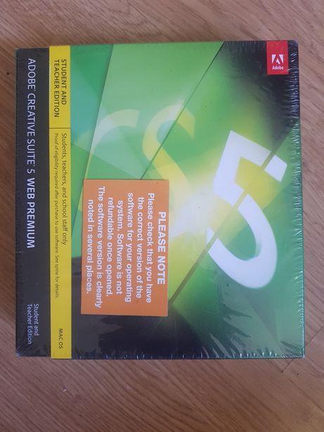Adobe Creative Suite 5 CS5 Nowe w folii, Web Premium Photoshop MacOS