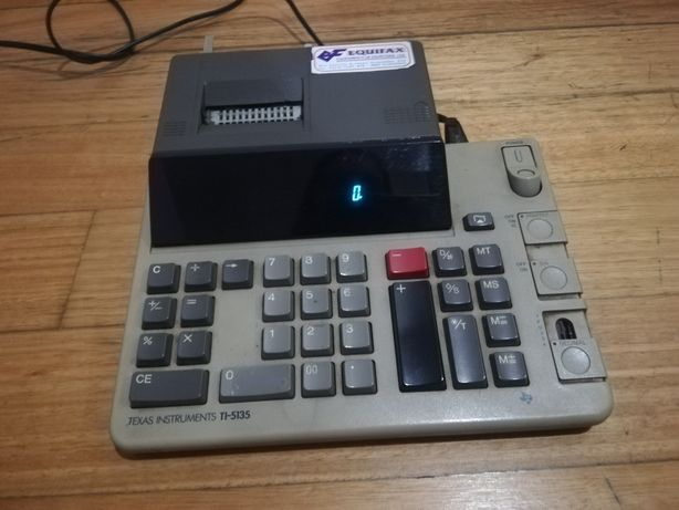 Calculadora elétrica escritório