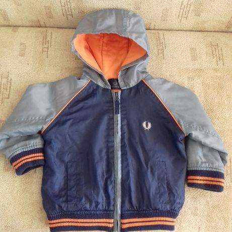 Куртка демисезонная на мальчика 86см