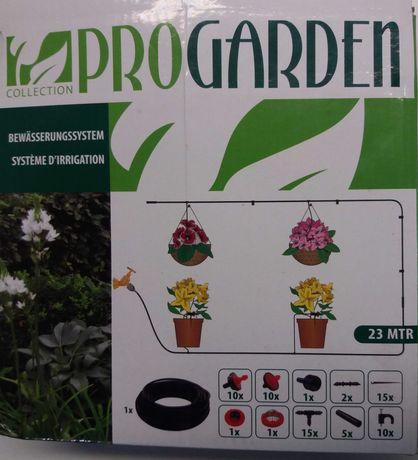 Rega gota a gota para plantas.