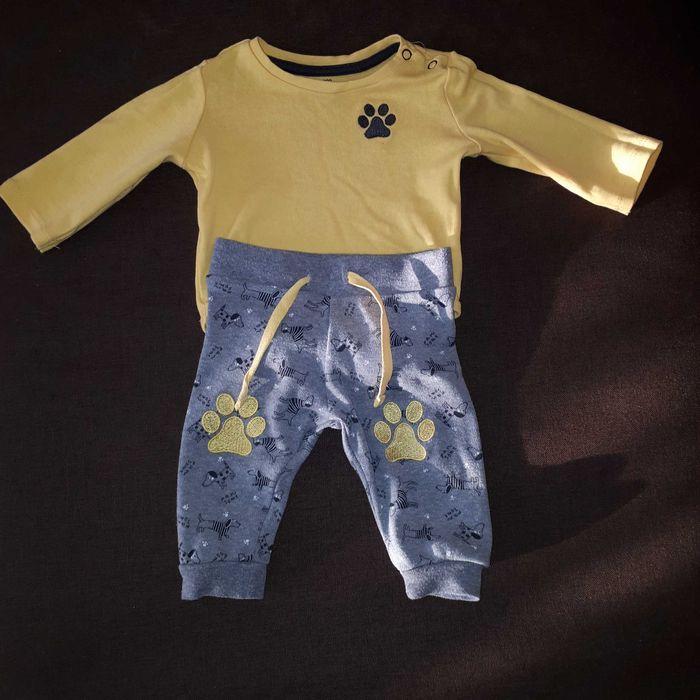 Komplet spodnie + body rozmiar 62 wysyłka za 1 zł Grajewo - image 1