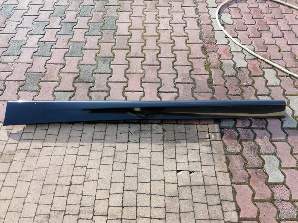 Nakładka obudowa progu BMW E90 E91 Blacksaphire metalic lewa strona