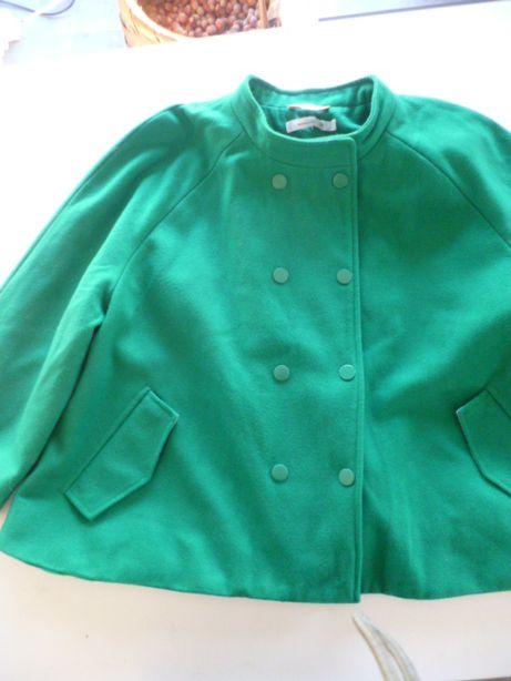 Zielona, śliczna kurtka, bolerko, rozm. - 44 - XL -