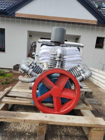 Kompresor z pompą 3 tłokową bez silnika.