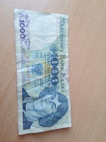 banknot 1000 zl