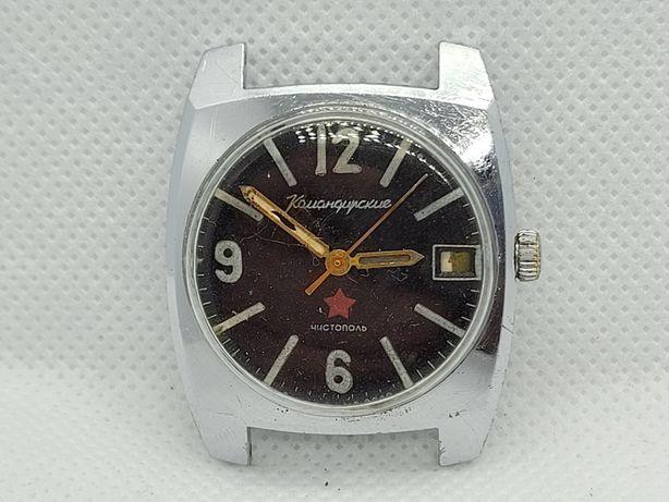 Zegarek Wostok komandirskie Zakaz MO CCCP