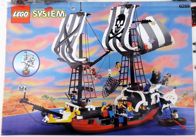 Lego System Piraci 6289 Red Beard Runner