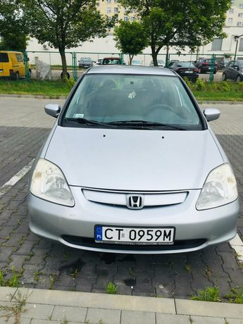 Honda Civic VII 2003r., 1.4 16v 90KM benzyna gaz