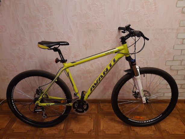 Велосипед горный Avanti Galant 27,5 19 размер, Аванти, вилка воздушная
