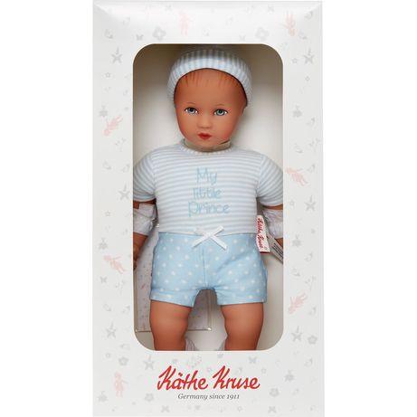 Lalka Kathe Kruse Puppe Mini Bambina My little Prince kolekcjonerska