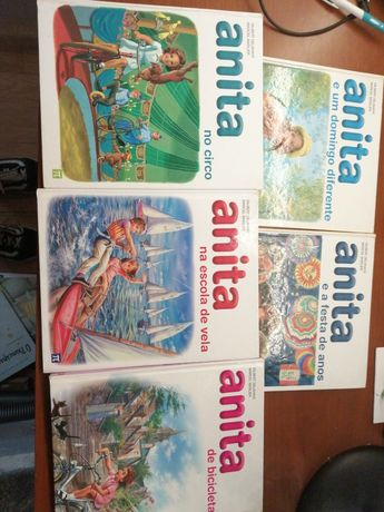 5 Livros da anita