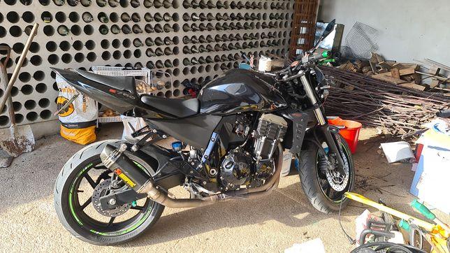 Kawasaki z750, 2007