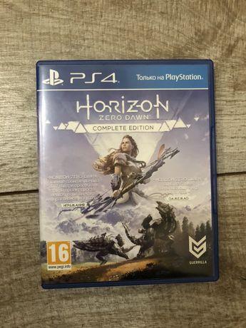 Диск Horizon Zero Down ps4 playstation