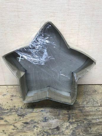 Armação em vidro - Estrela para registo