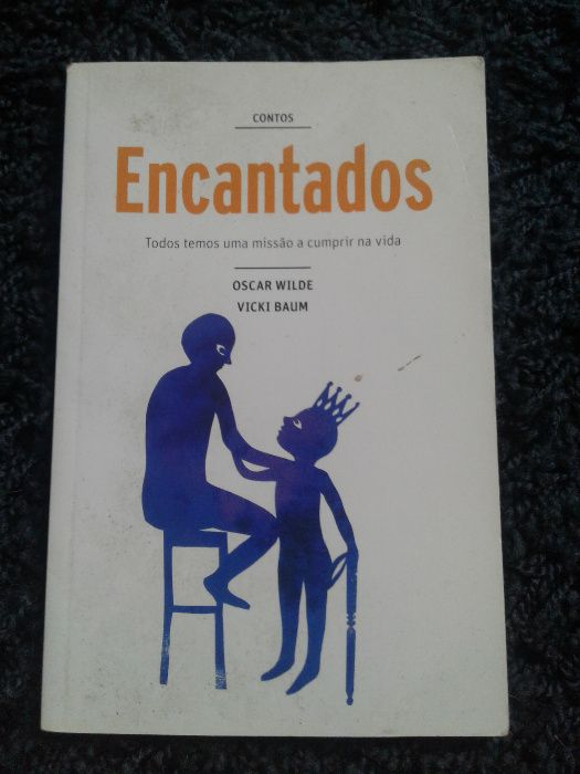 """Livro """"Contos Encantados"""" - Oscar Wilde, Vicki Baum Fânzeres E São Pedro Da Cova - imagem 1"""