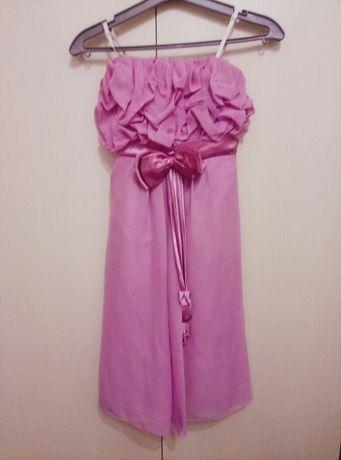 очень красивое платье на 11-13 лет шифон