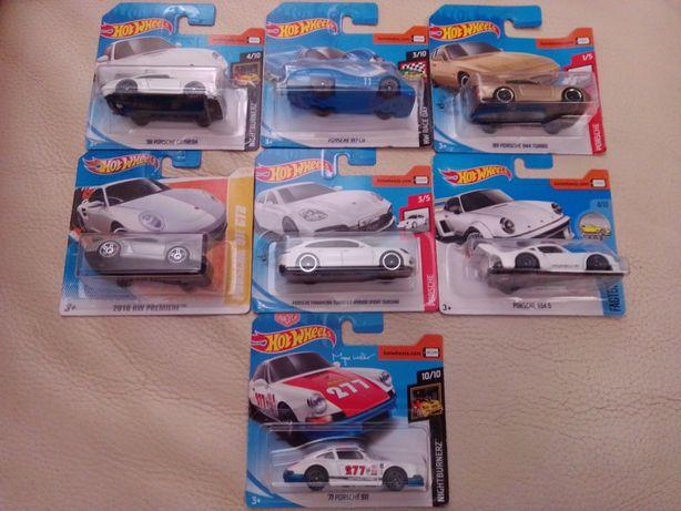 Hotwheels Porsche 356/911/917 LH/934/944/Carrera/Panamera