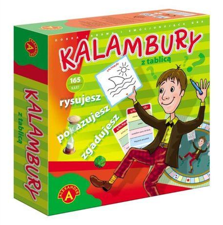 Kalambury big z tablicą gra planszowa NOWE GRY
