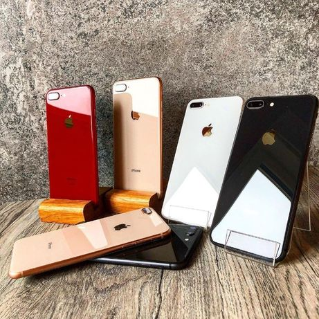 НОВЫЕ!!! iPhone 8+ 64GB 256GB + ГАРАНТИЯ* Silver* Gold* Red* Black