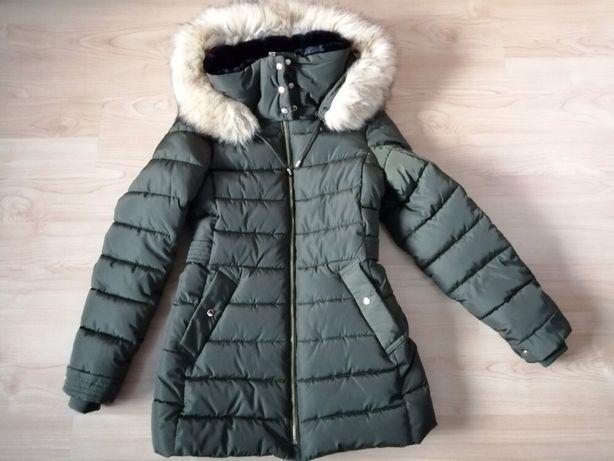 Nowa zimowa pikowana kurtka Zara XS