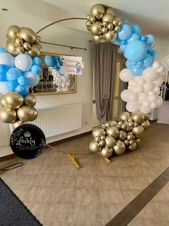 ścianki ślubne, urodzinowe, chrzest święty, balony na hel