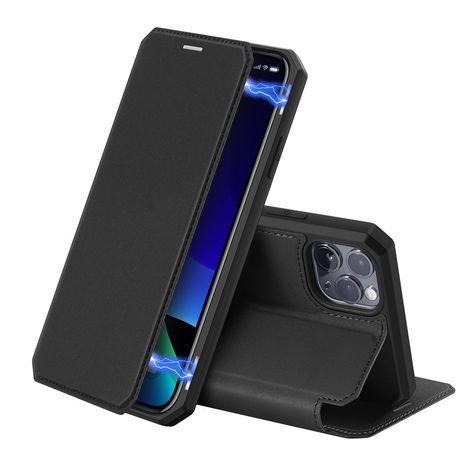 Capa Livro Horizontal Skin X Dux Ducis Iphone 11 Pro - Preto