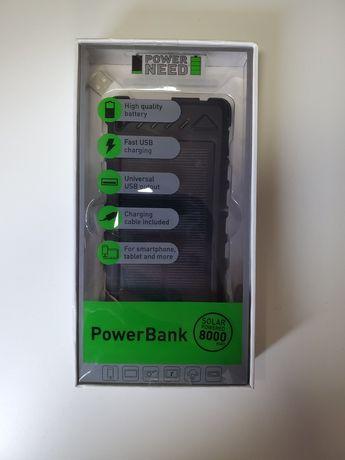 Powerbank Solarny EKO ECO PowerNeed 8000mAh