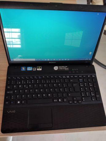 Portatil Sony Vaio VPCEH2Q1E ( com disco SSD)