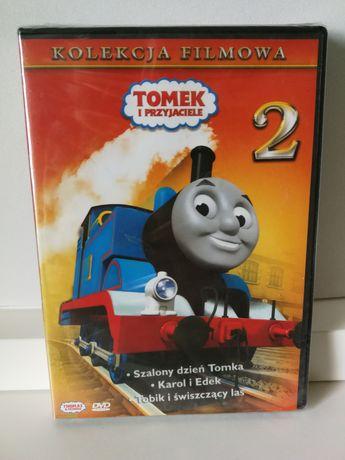 Tomek i przyjaciele 2 bajki na DVD  nowa nieużywana