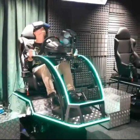 Аттракцион виртуальная реальность, авто авиа симулятор, OCULUS, HTC