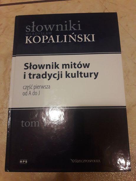 Słownik W. Kopaliński I tom
