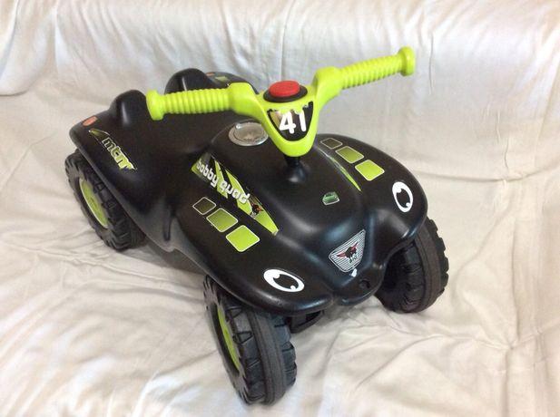 Квадроцикл-каталка BIG Гонки (Bobby Quad Racing)
