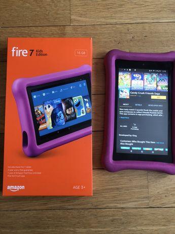 Неубиваемый детский планшет kindle fire 7 amazon