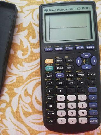 Máquina calculadora gráfica Texas TI-83 Plus