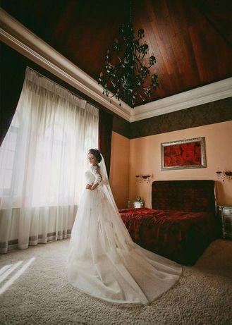 Продам свадебное платье.Обмен