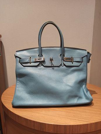 Кожаная сумка Hermes