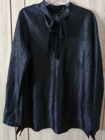 Bluzka 42 z brokatem lekka piekna