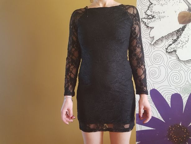 koronkowa sukienka m