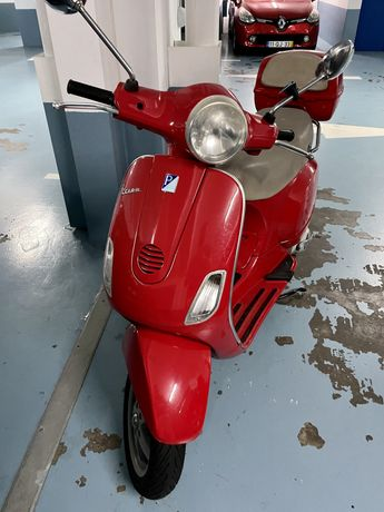 Vespa 125 CC mota