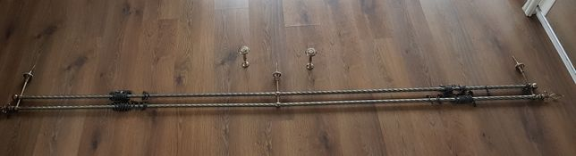 Karnisz metalowy 270 cm