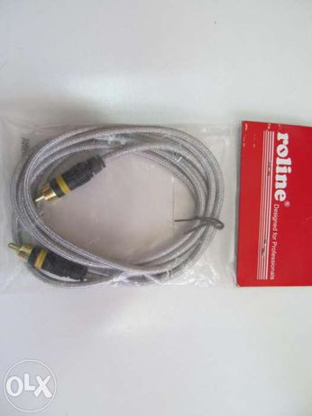 Roline Профессиональный Аудио / видео кабель RCA