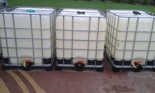 zbiornik na wode 1000l mauzer szchutz ibc beczka szambo