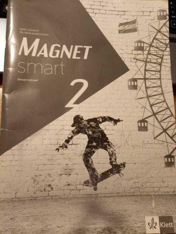 Magnet smart 2 zeszyt ćwiczeń, j, niemiecki