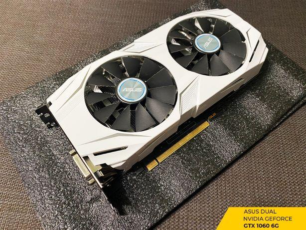 Видеокарта Asus PCI-E GeForce GTX1060 6GB DDR5 (DUAL-GTX1060-O6G)