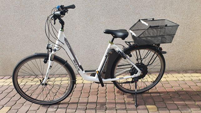 Rower elektryczny BULLS LAVIDA, rower aluminiowy damka elektryczna