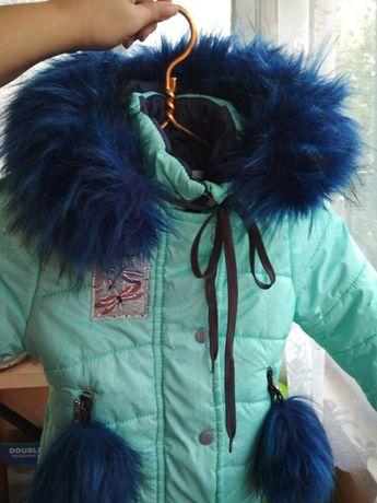 Детский зимний комбинезон на овчине, куртка
