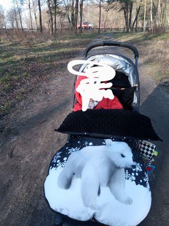 Śpiwór do wózka dziecięcego