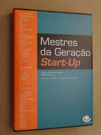 Mestres da Geração Start-Up de Géraldine Correia e Jorge Nascimento