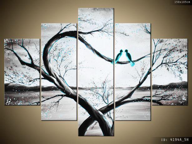 W turkusowym świetle księżyca, obraz na płótnie, Canvas, dobra cena!
