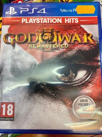 God Of War III 3 Remastered PS4 PL *Sklep Bytom